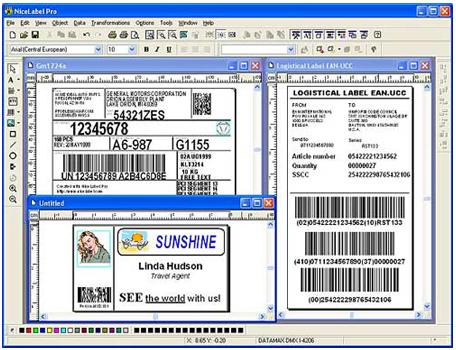 nicelabel打印软件|条码打印软件